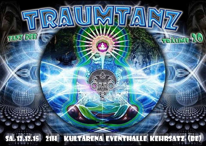 Party Flyer Traumtanz - Tanz der Träume 20 12 Dec '15, 21:00