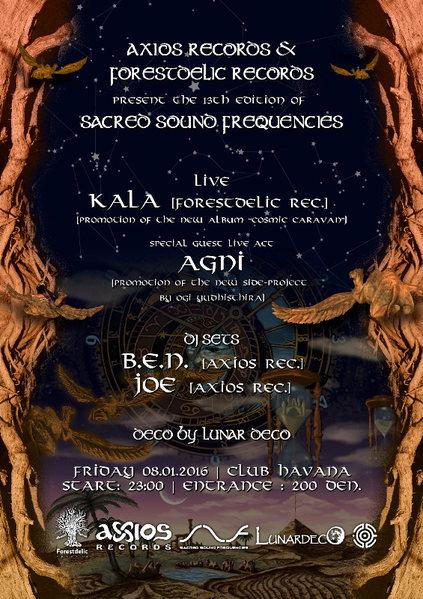 Sacred Sound Frequencies XIII: Axios & Forsetdelic 8 Jan '16, 22:00