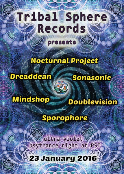 Tribal Sphere Records Party 23 Jan '16, 22:00