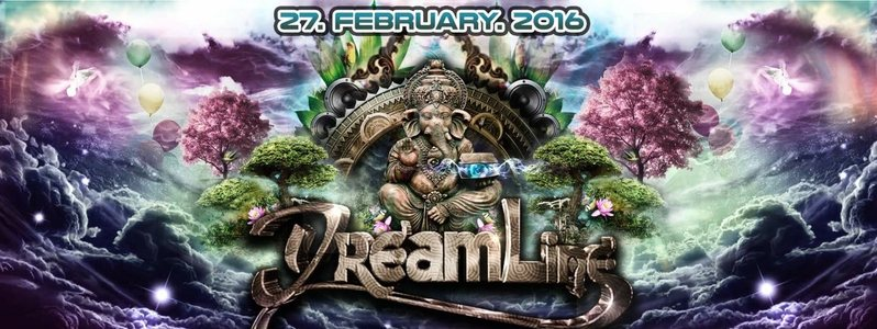 Party Flyer DREAMLINE with Fungus Funk, Chris Rich........ 27 Feb '16, 23:00