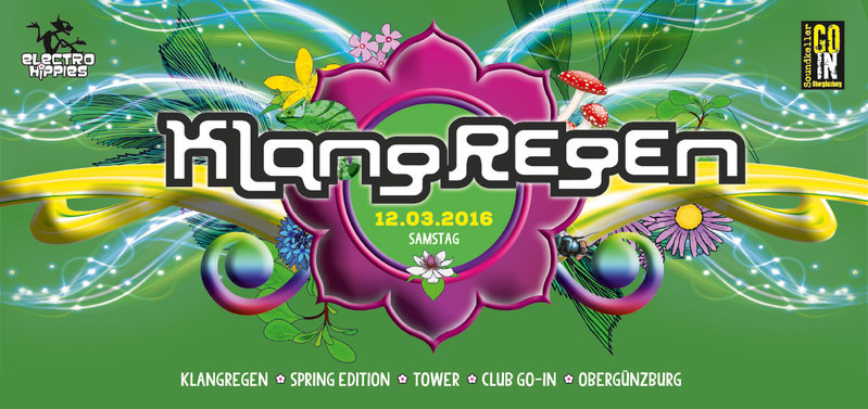 Party Flyer KlangRegen 12 Mar '16, 22:00