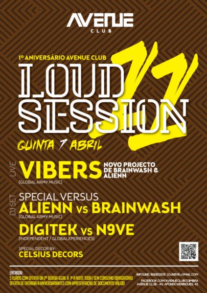 Party Flyer Loud Session #11 7 Apr '16, 23:30