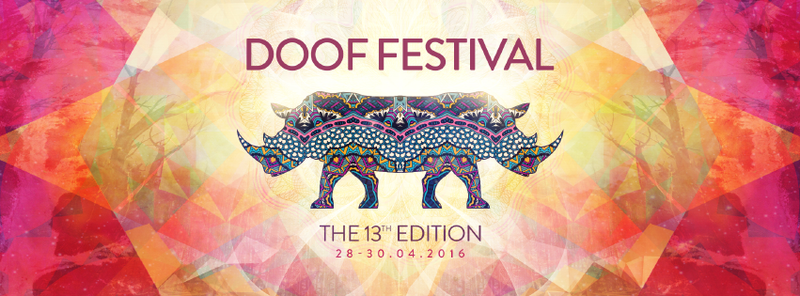 Party Flyer ❖ DOOF FESTIVAL 2016 - The 13 Edition ❖ 28 Apr '16, 12:00