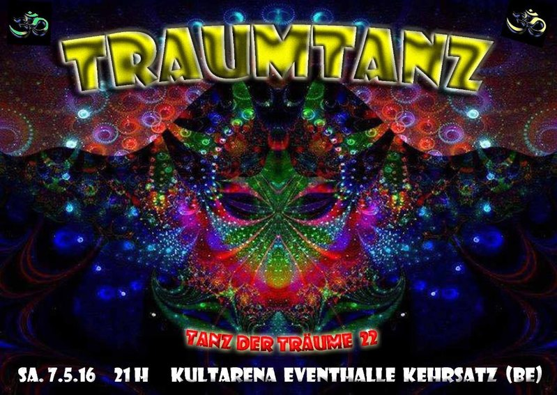 Party Flyer Traumtanz - Tanz der Träume 22 7 May '16, 21:00