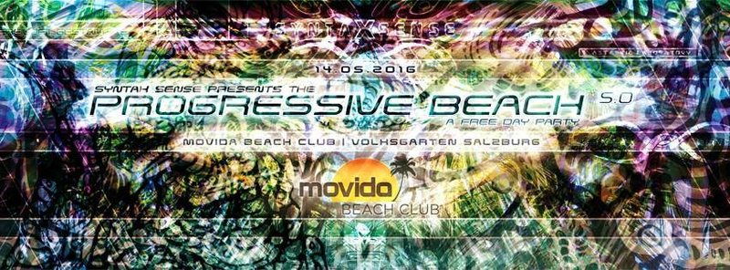 Party Flyer SYNTAX SENSE PROGRESSIVE BEACH VOL.5 (FREE PARTY) 14 May '16, 12:00