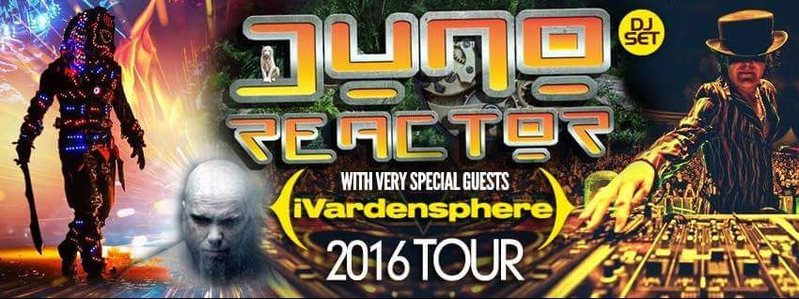 Party Flyer Acid Reign Presents: Juno Reactor 11 Jun '16, 22:00