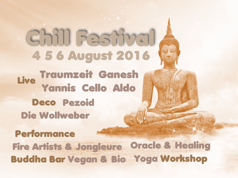 CHILL Festival 2016 4 Aug '16, 18:00