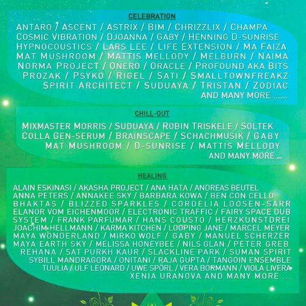New Healing Festival 2016 15 Aug '16, 12:00