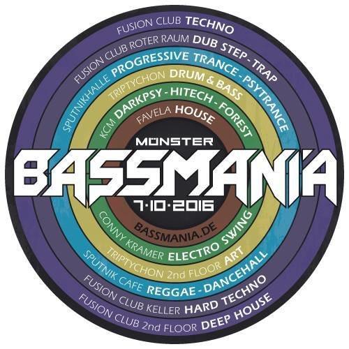 Party Flyer Bassmania XXXXL 7 Oct '16, 23:00