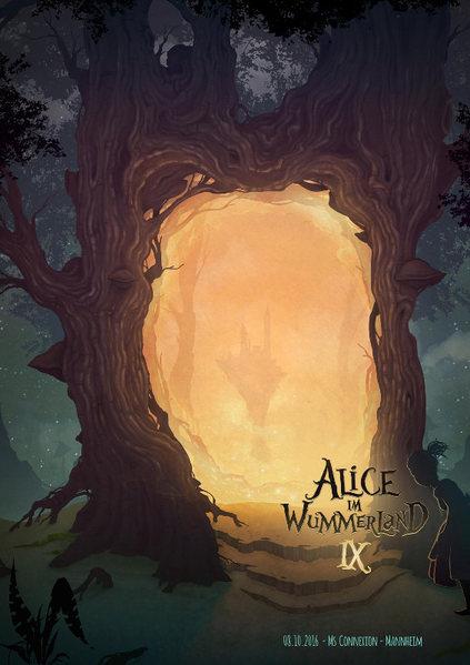 Party Flyer Alice im Wummerland IX 8 Oct '16, 22:00