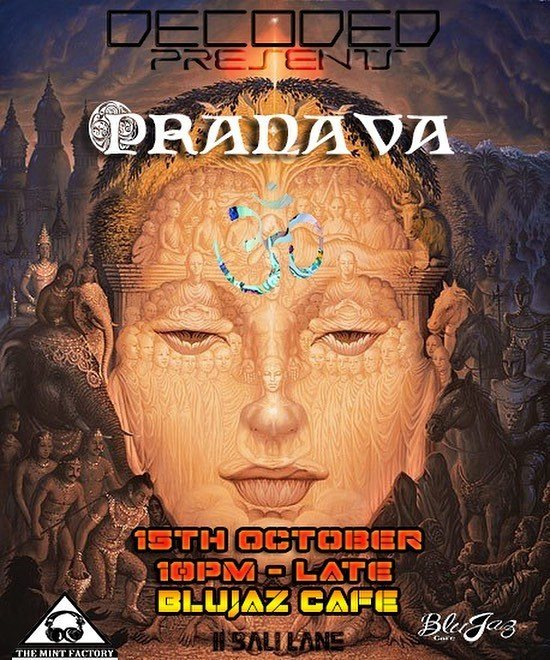 Party Flyer Decoded presents Pranava 15 Oct '16, 22:00