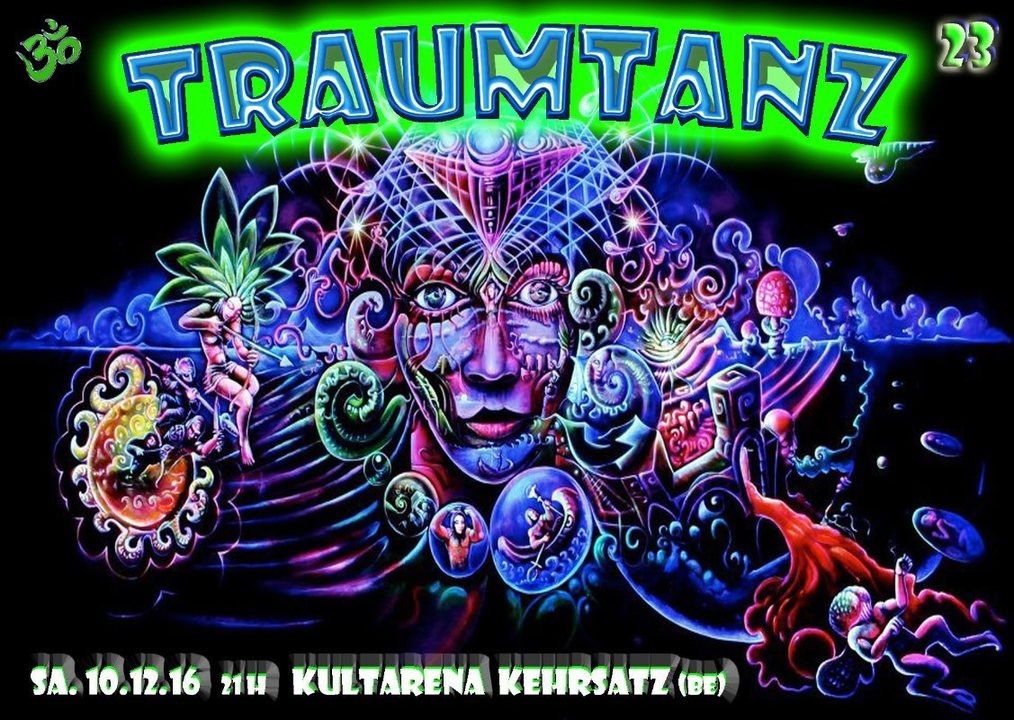Party Flyer Traumtanz - Tanz der Träume 23 - Winter Edition 2016 10 Dec '16, 21:00