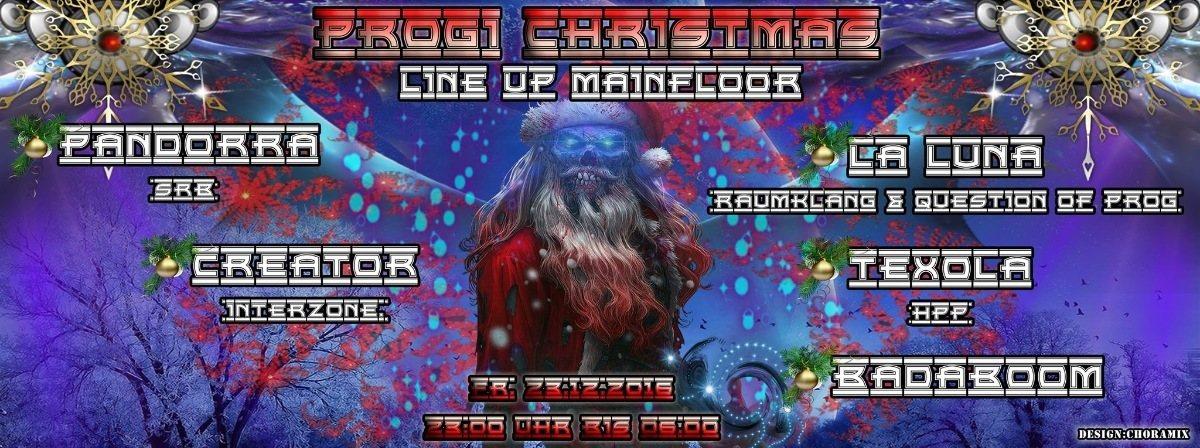Party Flyer Progi Christmas 23 Dec '16, 23:00
