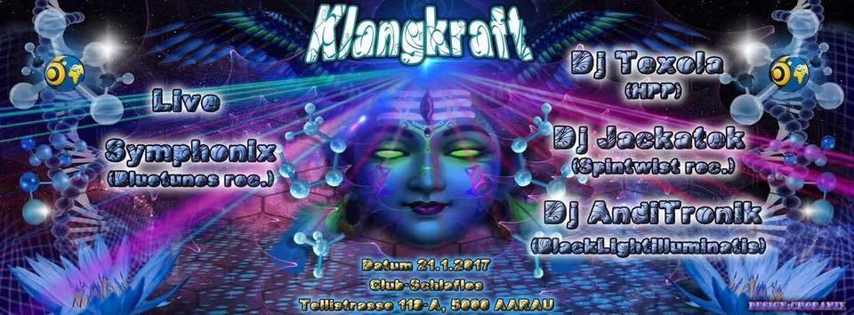 Klangkraft w/ Symphonix Live 21 Jan '17, 23:00