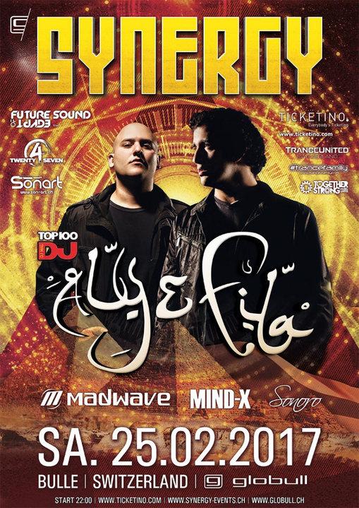 SYNERGY at Globull feat. Aly & Fila 25 Feb '17, 22:00