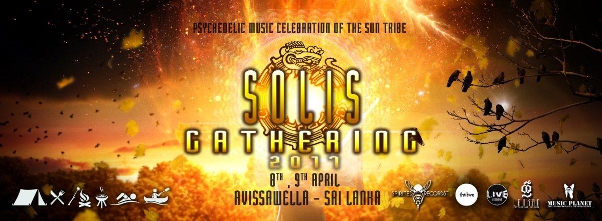 Party Flyer Solis Gathering - Sri Lanka 8 Apr '17, 11:00