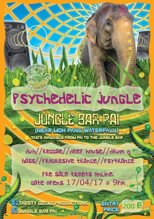 Psychedelic Jungle 17 Apr '17, 19:00