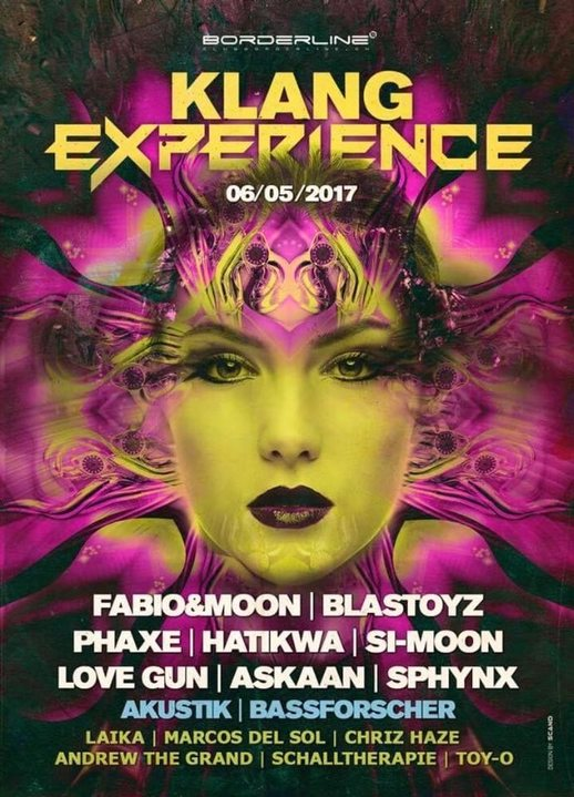 Party Flyer KlangExperience -Raumklang meets Progressive Experience 6 May '17, 22:30