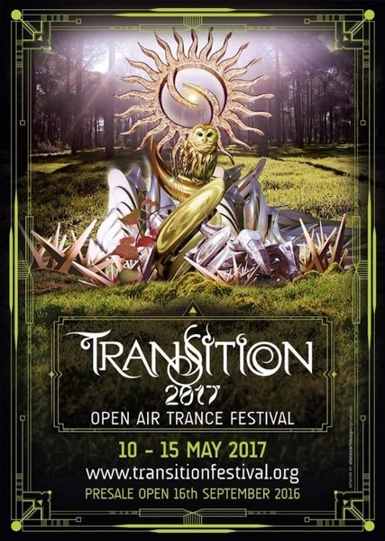 Party Flyer TRANSITION 2017 ::: Open Air Trance Festival 10 May '17, 22:00