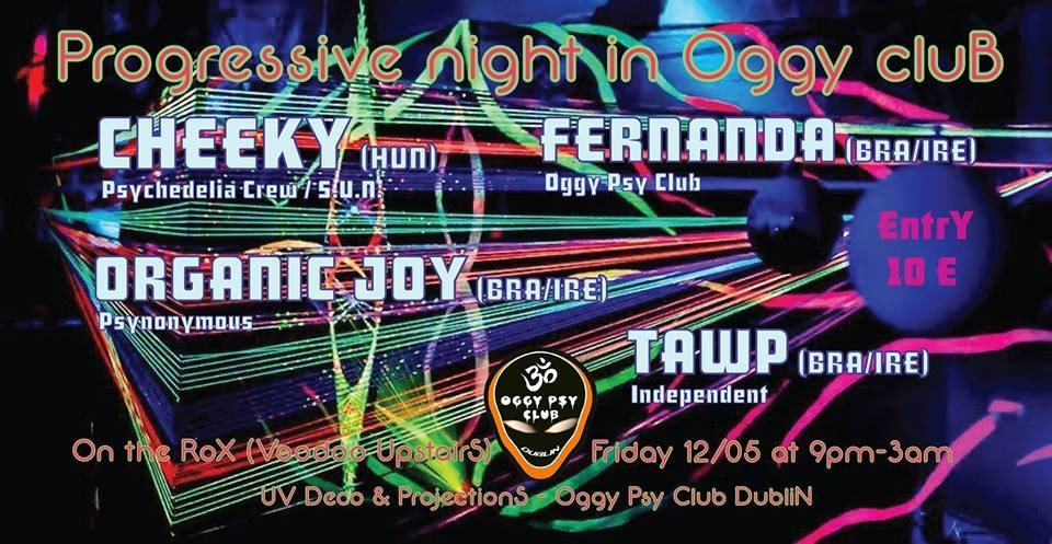 Party Flyer Progressive Night in OGGY CLUB 12 May '17, 21:00