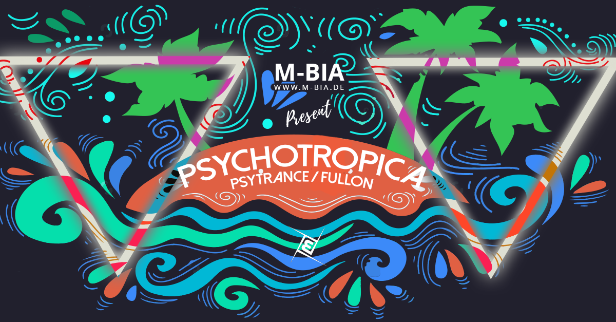 Party Flyer Psychotropica III Psytrance/Fullon & Techno 13 May '17, 23:00