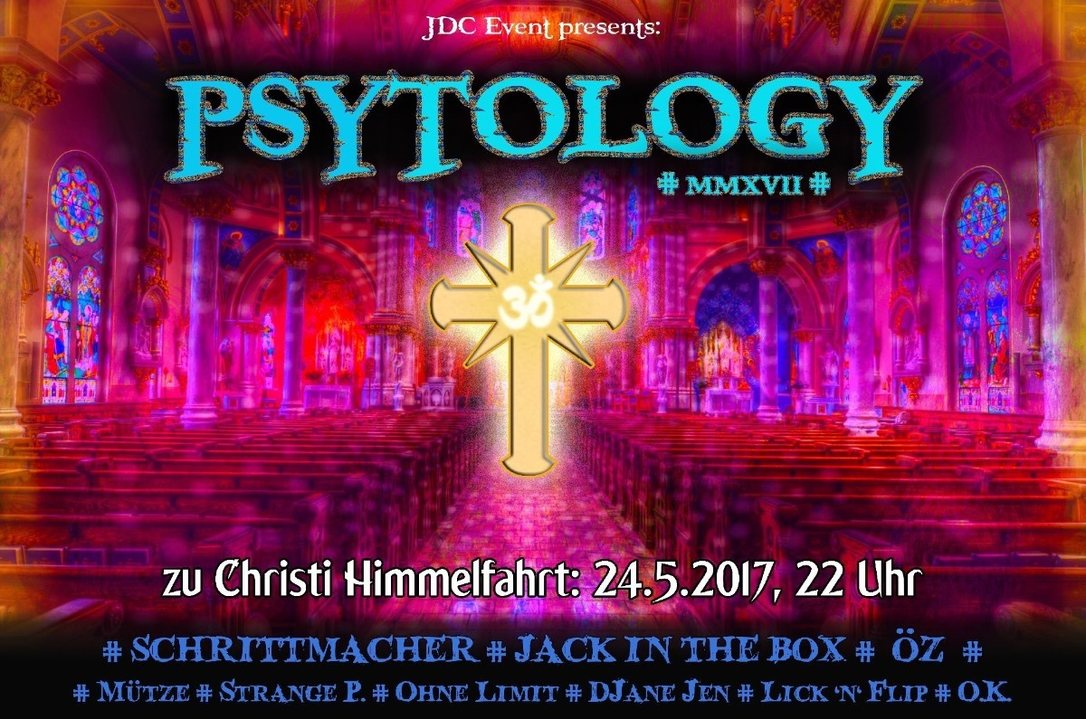 Party Flyer † Psytology 2017 † 24 May '17, 22:00