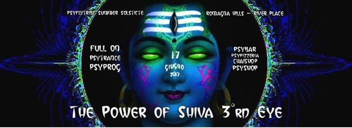 Party Flyer The Power of Shiva 3°rd Eye 17 Jun '17, 16:00