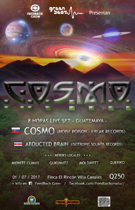 Cosmo: 8 horas en Guatemala 1 Jul '17, 20:00