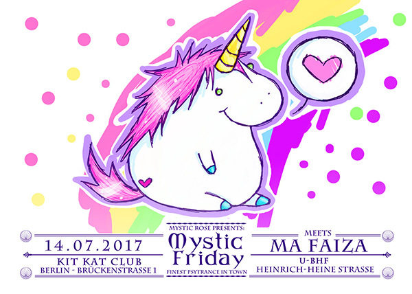 Mystic Friday meets Ma Faiza 14 Jul '17, 23:00