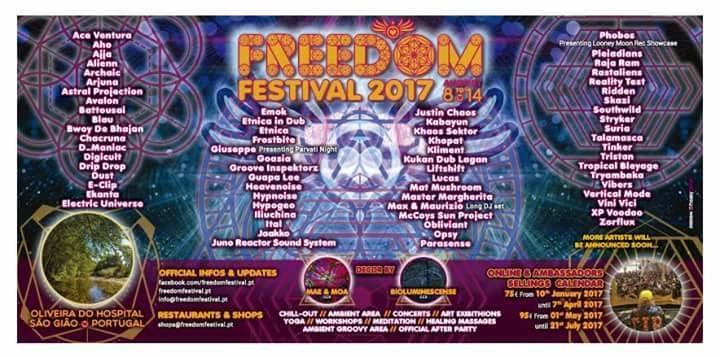 Freedom Festival 2017 8 Aug '17, 12:00