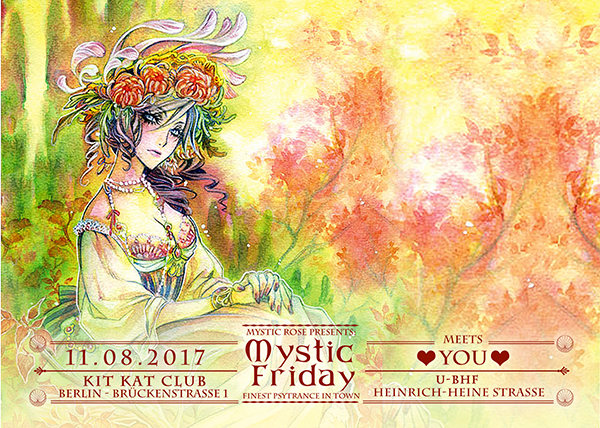 Party Flyer The Mystic Friday meets...YOU 11 Aug '17, 23:00