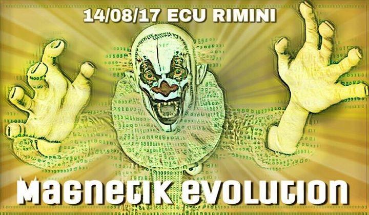 Party Flyer Magnetik Evolution 14 Aug '17, 18:00