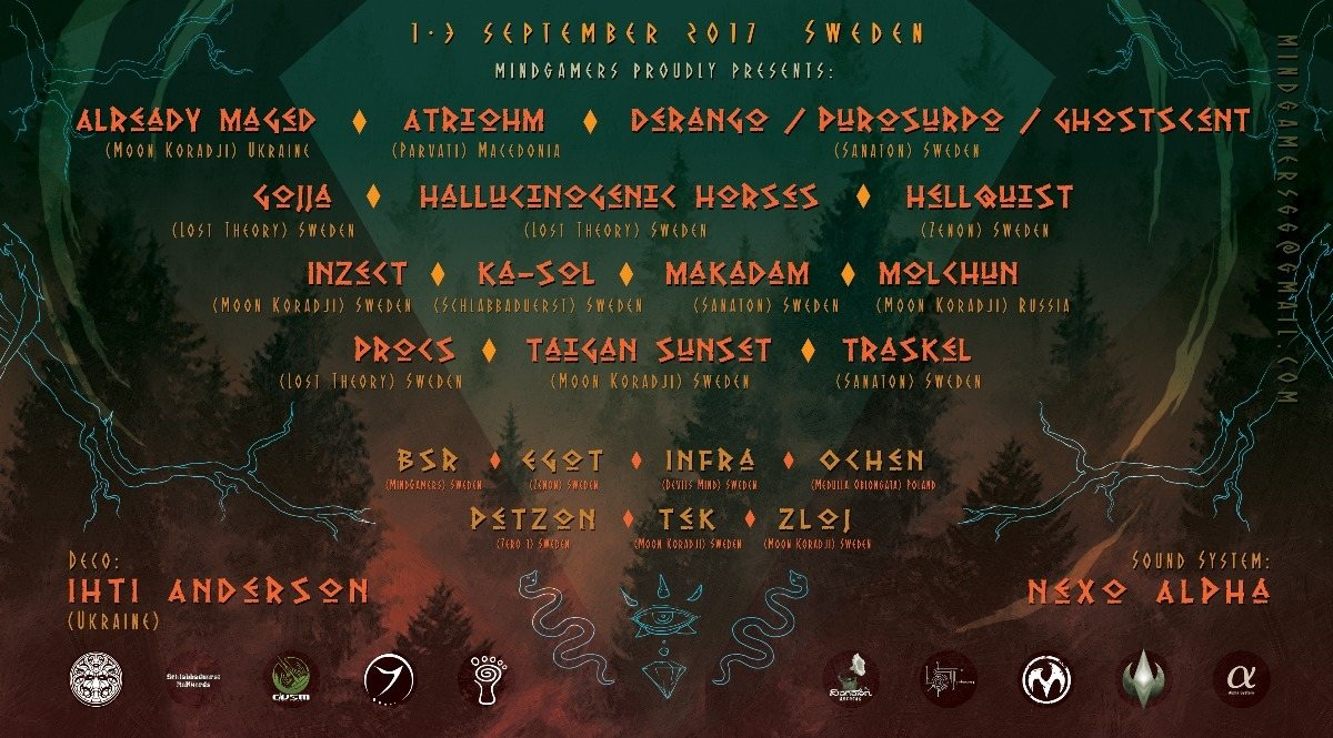 Party Flyer The Shadow Of The Dark Shaman By MindGamers 1 Sep '17, 20:00