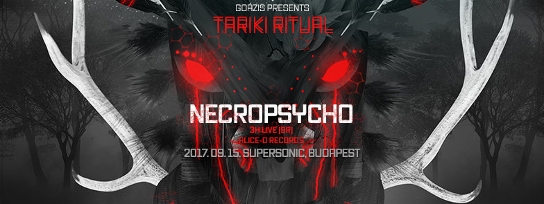 Goázis presents: Tariki Ritual w/ Necropsycho (BR) 15 Sep '17, 22:00