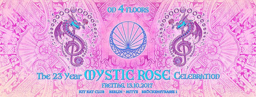 Party Flyer The 23 Year Mystic Rose Celebration 13 Oct '17, 22:00