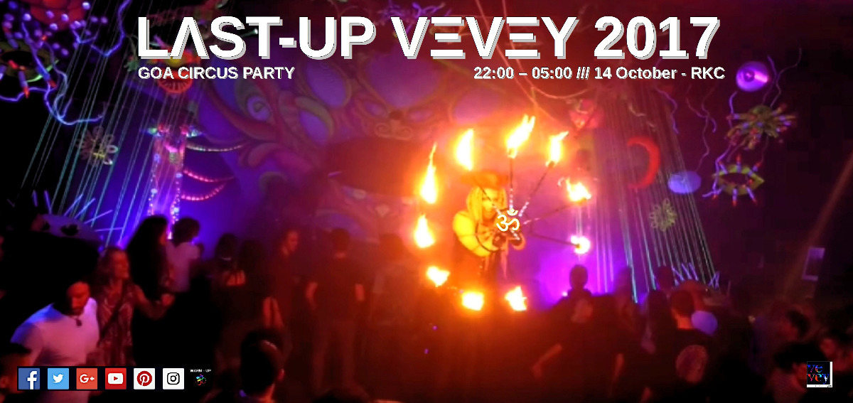 Party Flyer Last-Up Vevey ॐ 2017 14 Oct '17, 22:00