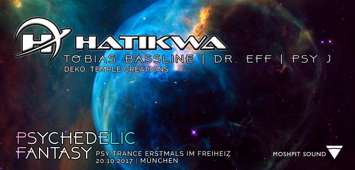 Psychedelic Fantasy 20 Oct '17, 22:30