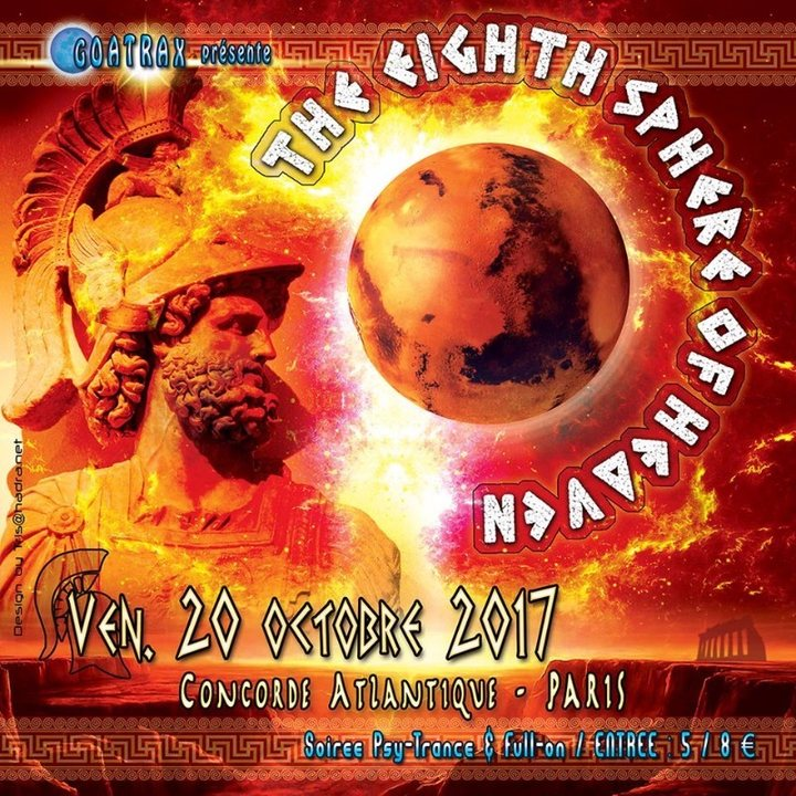 THE EIGHTH SPHERE OF HEAVEN 20 Oct '17, 23:30