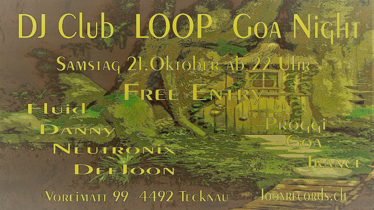 DJ Club LOOP 21 Oct '17, 22:00