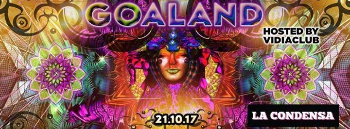 Party Flyer Goaland 21 Oct '17, 23:00