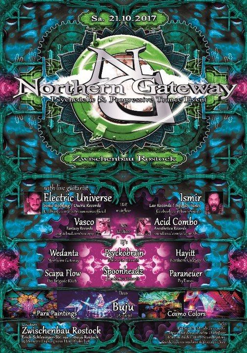 Northern Gateway - Electric Universe & Ismir & xtra Darkfloor 21 Oct '17, 23:00