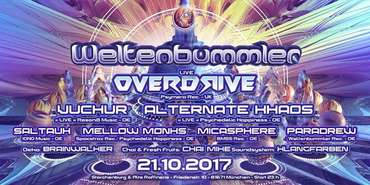 Weltenbummler with Overdrive ( live ) // UK 21 Oct '17, 21:00