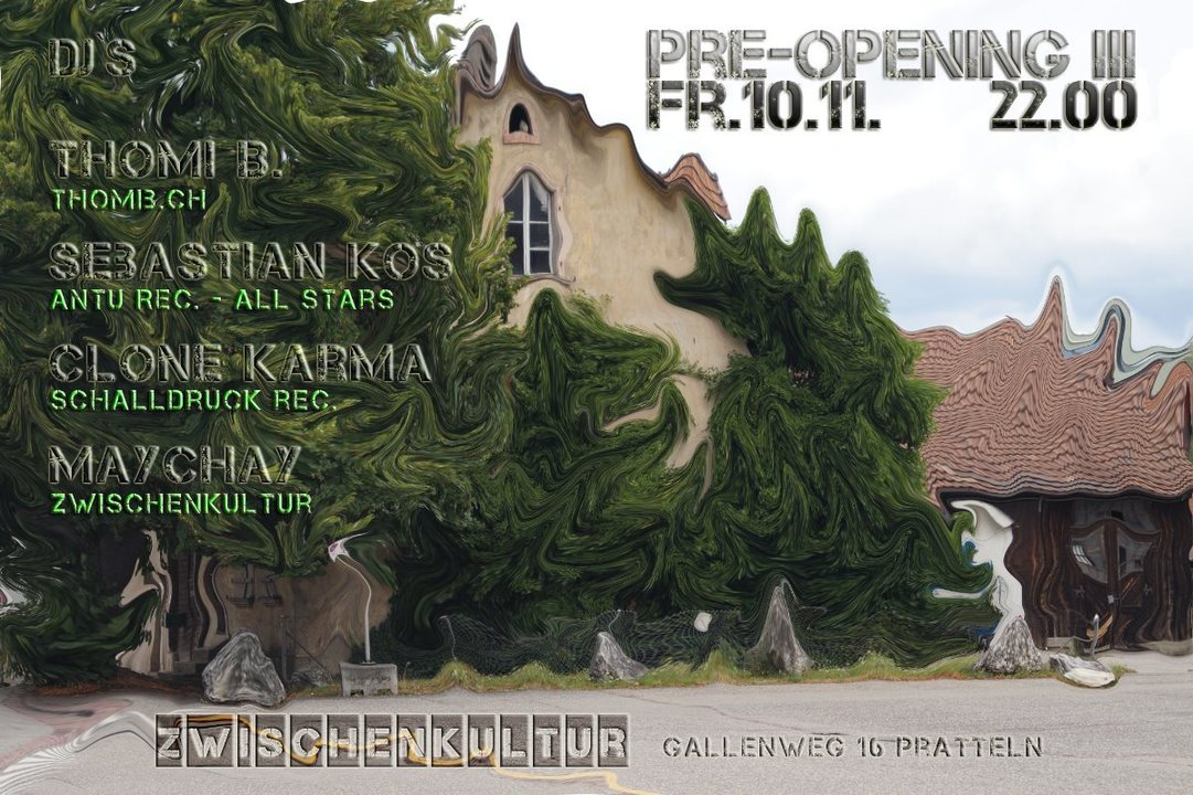 Pre-Opening III 10 Nov '17, 22:00