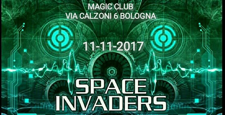 Party Flyer ★▻◥♔ॐ SPACE INVADERS 2.0 ॐ♔◤◅★ ★free x tutti entro le 23:30★ 11 Nov '17, 22:00