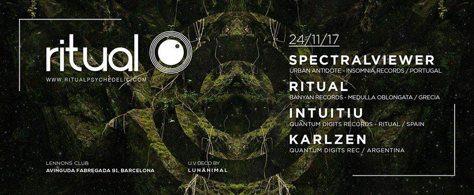 Ritual ( ? Live! ) at Lennons Club, Barcelona 24 Nov '17, 23:00