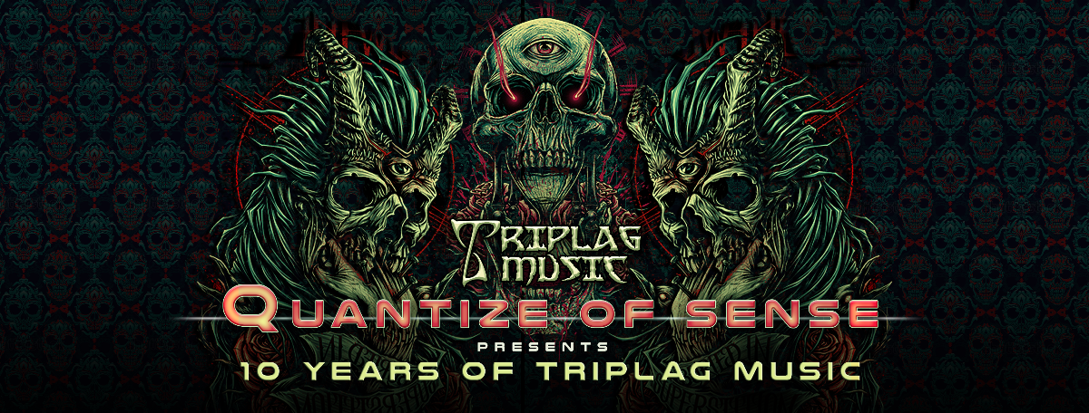 Party Flyer Quantize of Sense pres. 10 Years of TRIPLAG Music 1 Dec '17, 23:00
