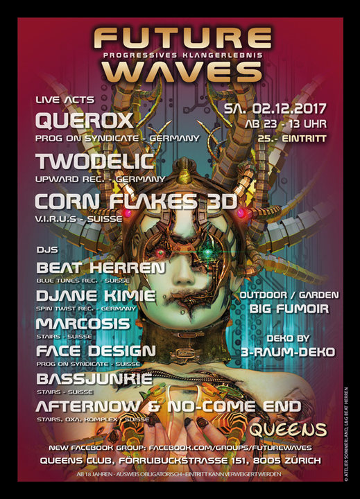 Party Flyer Future Waves 2 Dec '17, 23:00