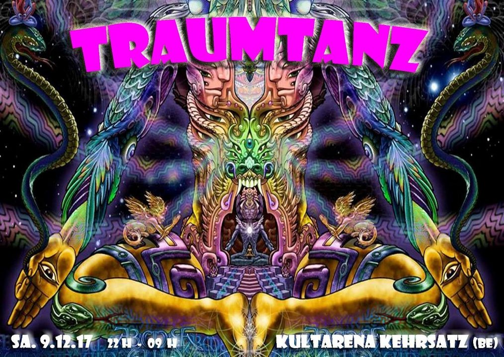 Party Flyer Traumtanz ॐ Tanz der Träume 25 9 Dec '17, 22:00