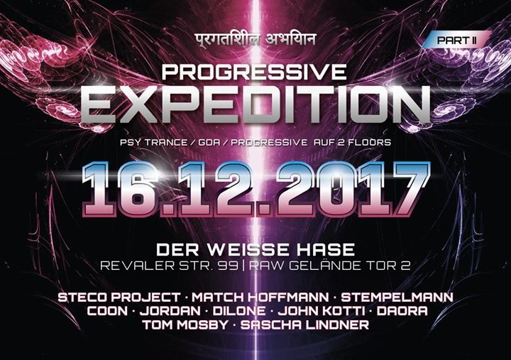 Progressive Expedition 16 Dec '17, 23:00