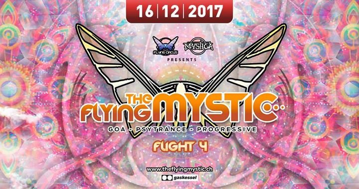 Party Flyer The Flying Mystic 2017-4 16 Dec '17, 22:00